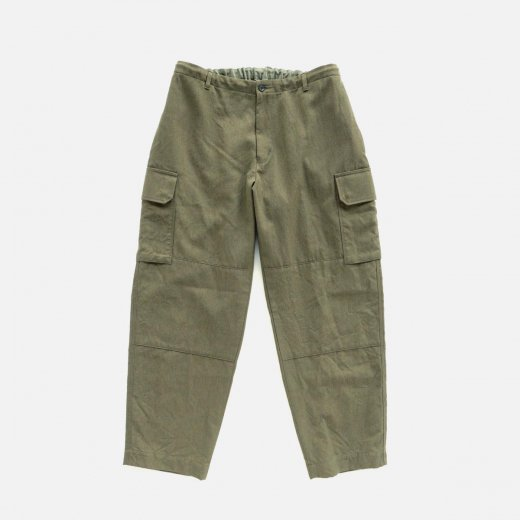 -21AW先行受注- WASHABLE WOOLGABA BDU PANTS