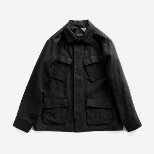 <img class='new_mark_img1' src='https://img.shop-pro.jp/img/new/icons1.gif' style='border:none;display:inline;margin:0px;padding:0px;width:auto;' />LINEN WEATHER JUNGLE FATIGUE JACKET