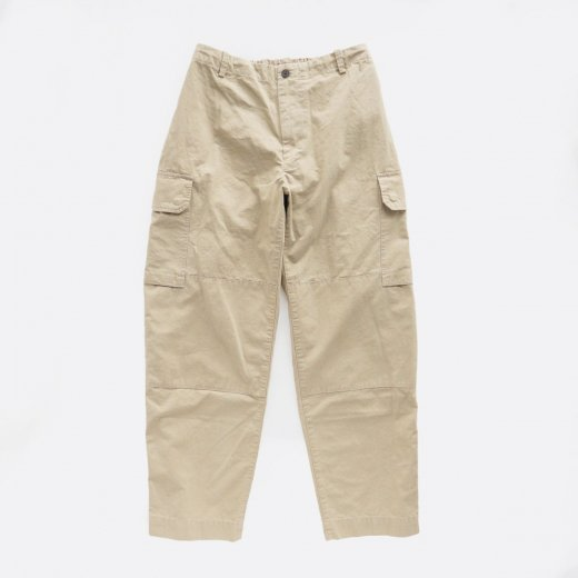 ORGANIC COTTON NEPPED WEATHER CLOTH B.D.U. PANTS