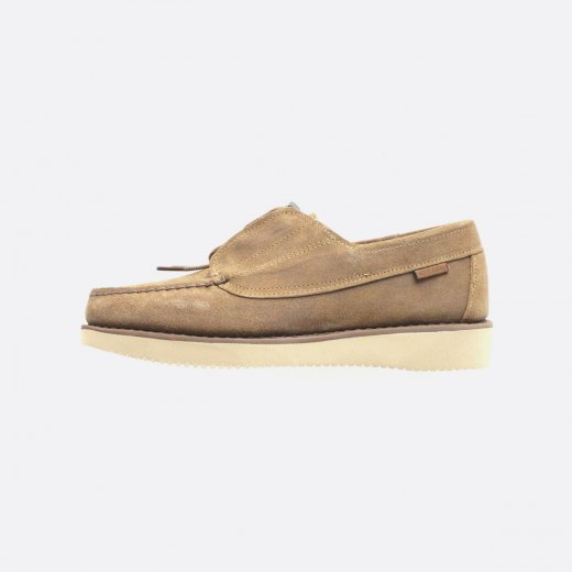 <img class='new_mark_img1' src='https://img.shop-pro.jp/img/new/icons1.gif' style='border:none;display:inline;margin:0px;padding:0px;width:auto;' />Engineered Garments × Sebago  COVERDECK - WAXY SUEDE