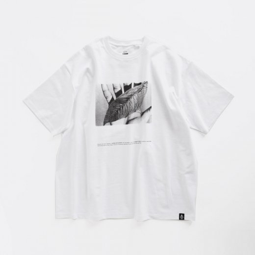 """POET MEETS DUBWISE for Graphpaper OVERSIZED TEE """"WORDS AND SILENCE"""""""