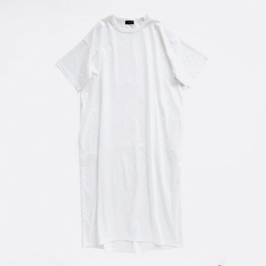 WIDE T-SHIRT DRESS