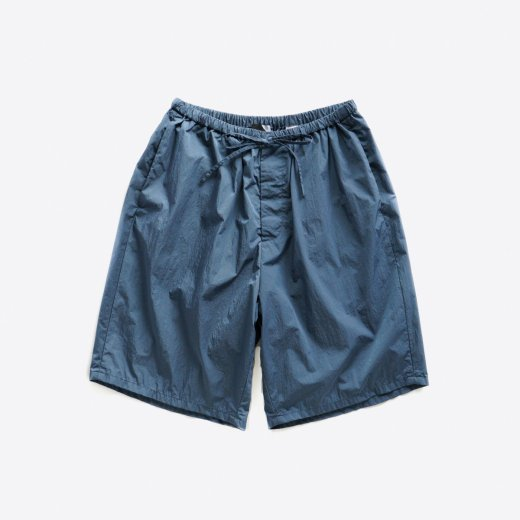 <img class='new_mark_img1' src='https://img.shop-pro.jp/img/new/icons1.gif' style='border:none;display:inline;margin:0px;padding:0px;width:auto;' />NATURAL DYE NYLON | EASY WIDE SHORT PANTS