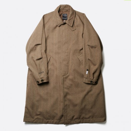 <img class='new_mark_img1' src='https://img.shop-pro.jp/img/new/icons1.gif' style='border:none;display:inline;margin:0px;padding:0px;width:auto;' />GORE-TEX INFINIUM™ TECH TWEED SOUTIEN COLLAR COAT