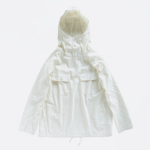 CAGOULE SHIRT - COTTON MICRO SANDED TWILL