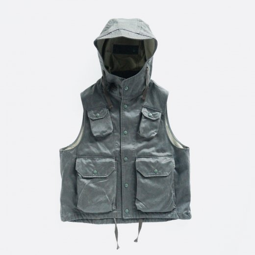 FIELD VEST - COATED TWILL