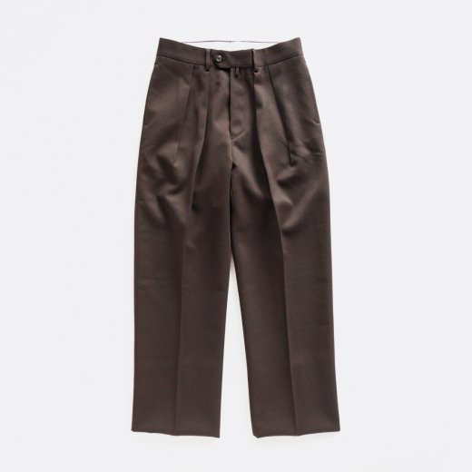 <img class='new_mark_img1' src='https://img.shop-pro.jp/img/new/icons1.gif' style='border:none;display:inline;margin:0px;padding:0px;width:auto;' />WIDE - WOOL GABARDINE -