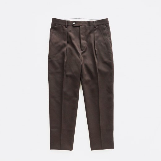 <img class='new_mark_img1' src='https://img.shop-pro.jp/img/new/icons1.gif' style='border:none;display:inline;margin:0px;padding:0px;width:auto;' />ONE TUCK - WOOL GABARDINE -
