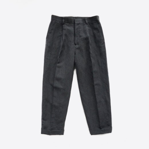 <img class='new_mark_img1' src='https://img.shop-pro.jp/img/new/icons1.gif' style='border:none;display:inline;margin:0px;padding:0px;width:auto;' />WOOL LINEN TAPERED SLACKS