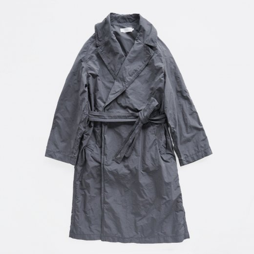 GARMENT DYED GOWN COAT