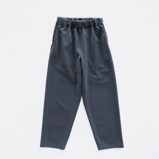 HEAVY POLYESTER DOUBLE CLOTH 2WAY STRETCH STRAIGHT PANTS