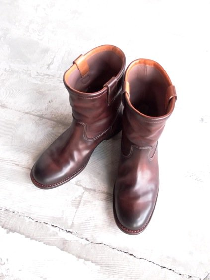 MOTO ROPER BOOTS (BROWN)3