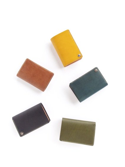 MOTO LEATHER WALLET W2 (定番5色)