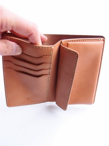 MOTO LEATHER WALLET W2 (定番5色)3