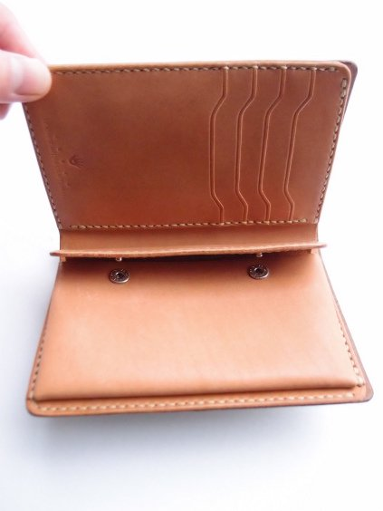 MOTO LEATHER WALLET W2 (定番5色)4