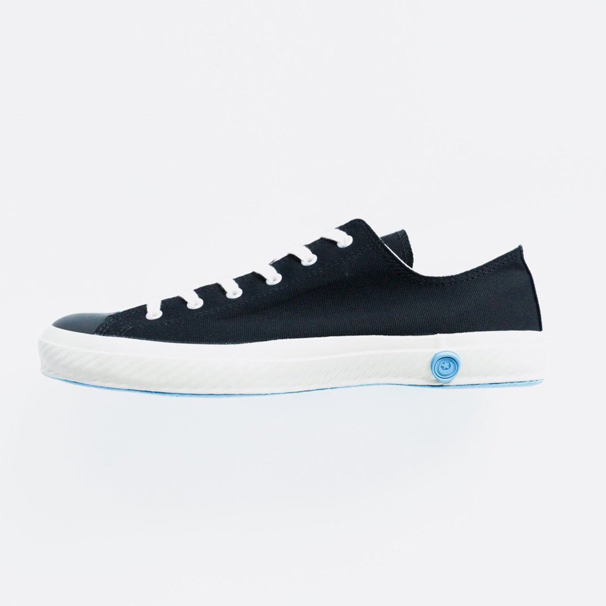 SHOES LIKE POTTERY CANVAS SNEAKER LOW (BLACK)