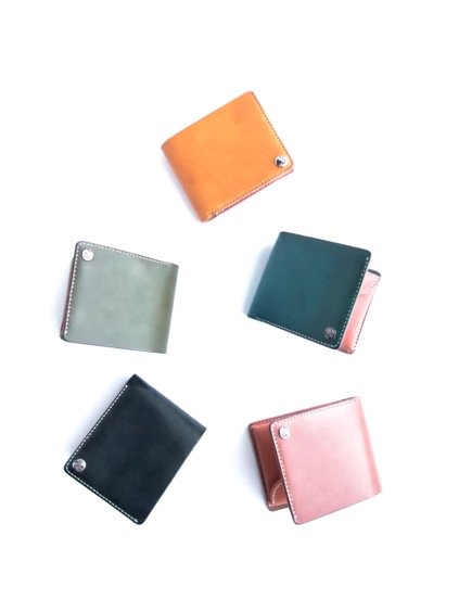 MOTO LEATHER WALLET W1 (定番5色)