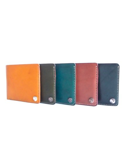 MOTO LEATHER WALLET W1 (定番5色)2