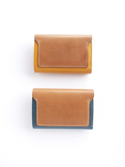MOTO LEATHER WALLET W6C (BLUE) (GREEN)(YELLOW)2