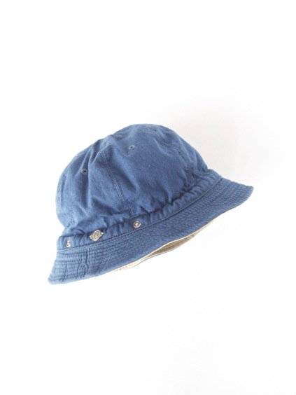 DECHO KOME HAT -new - (PAINTER DENIM,blue)