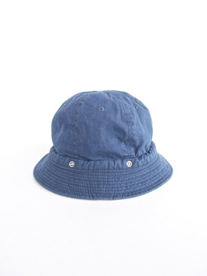 DECHO KOME HAT -new - (PAINTER DENIM,blue)2