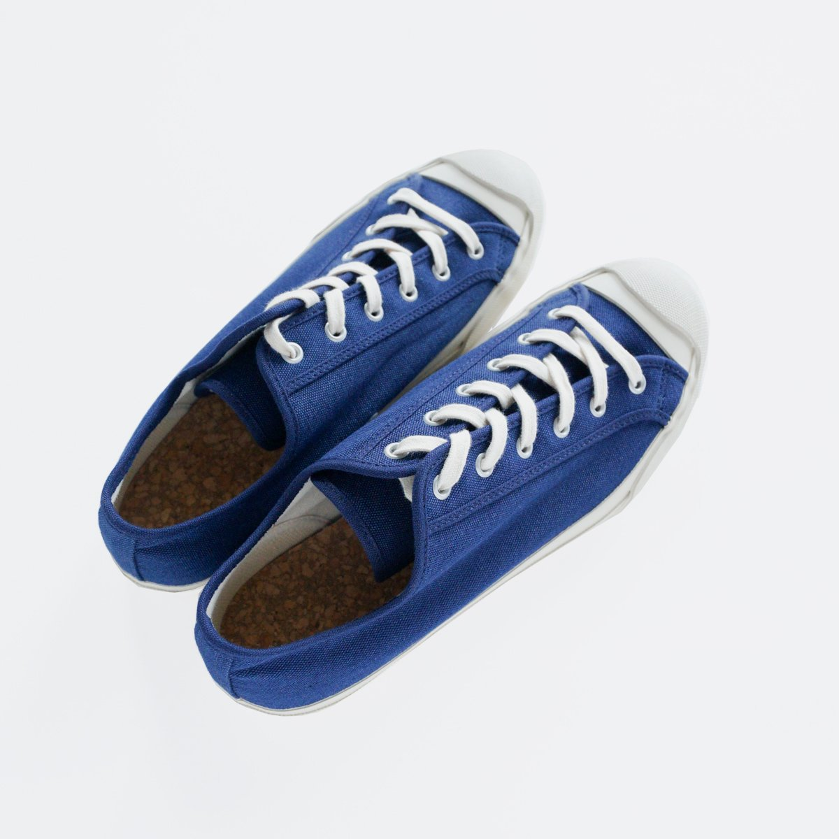 DOEK CANVAS SNEAKER 'COURT' (NAVY)4