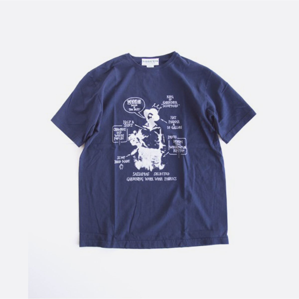 SASSAFRAS SELECTED SCOOPMAN-T(NAVY)