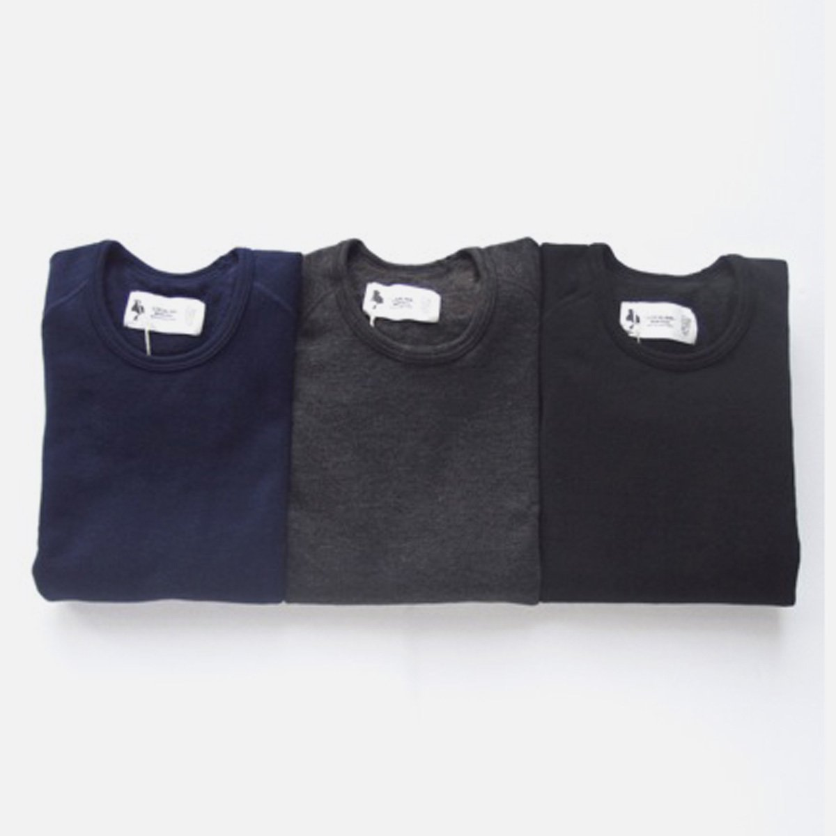 LOCALINA CREW NECK CUTSEW (NAVY)(CHARCOAL)(BLACK)