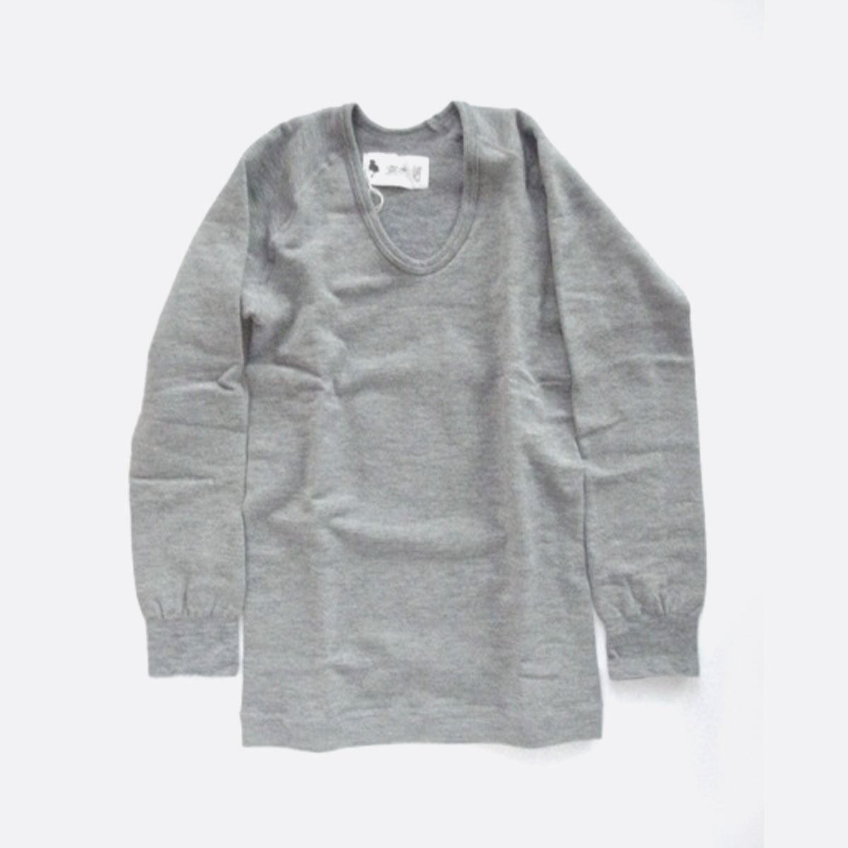 LOCALINA U NECK CUTSEW (WHITE)(GRAY)