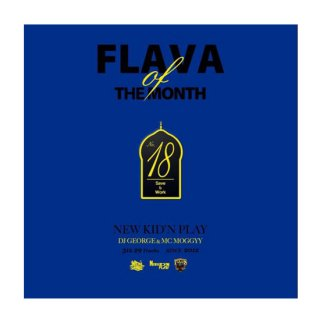 NEW KID'N PLAY【DJ GEORGE & MC MOGGYY】/FLAVA OF THE MONTH Vol,18