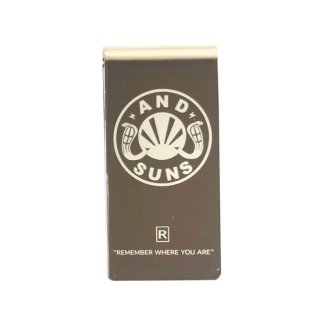 ANDSUNS/TAG MONEY CLIP