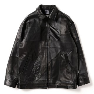 APPLEBUM/Patchwork Leather Blouson