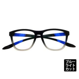 DONT PANIC/TYPE-02 MATT BLACK FADE シングルスペック ブルーライトカットレンズ