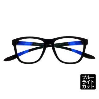 DONT PANIC/TYPE-02 MATT BLACK シングルスペック ブルーライトカットレンズ
