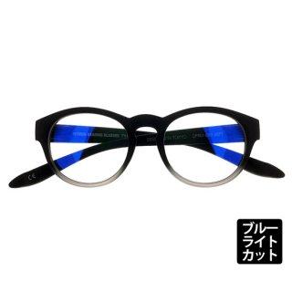 DONT PANIC/TYPE-01 MATT BLACK FADE シングルスペック ブルーライトカットレンズ