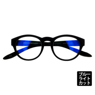 DONT PANIC/TYPE-01 MATT BLACK シングルスペック ブルーライトカットレンズ