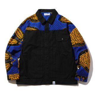 <img class='new_mark_img1' src='https://img.shop-pro.jp/img/new/icons5.gif' style='border:none;display:inline;margin:0px;padding:0px;width:auto;' />MAGIC STICK/AFRICAN 1ST TYPE SHIRT JACKET