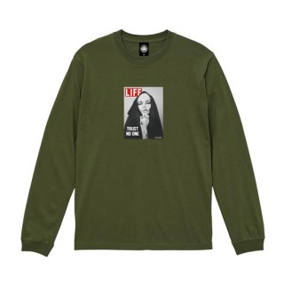 ANDSUNS/TRUST NO ONE LS TEE