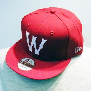 WINFIELD/W RED AUTHENTIC SNAPBACK