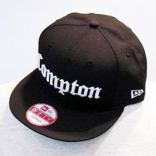 WINFIELD/COMPTON BLACK SNAP BACK