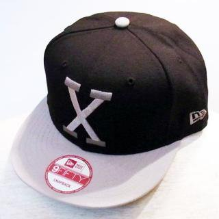 WINFIELD/X BLACK X GRAY SNAPBACK