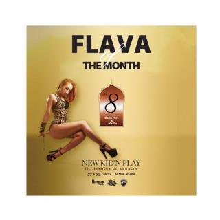 NEW KID'N PLAY (DJ GEORGE & MC MOGGYY)/FLAVA OF THE MONTH VOL,8