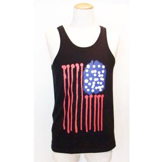 <img class='new_mark_img1' src='https://img.shop-pro.jp/img/new/icons41.gif' style='border:none;display:inline;margin:0px;padding:0px;width:auto;' />ANDSUNS/DRIPPING STRIPES TANK
