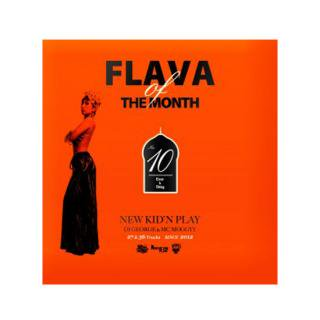 NEW KID'N PLAY【DJ GEORGE & MC MOGGYY】/FLAVA OF THE MONTH Vol,10