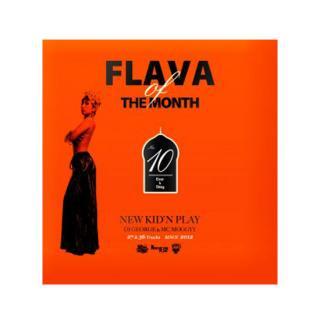 NEW KID'N PLAY【DJ GEORGE & MC MOGGYY】/FLAVA OF THE MONTH Vol,10