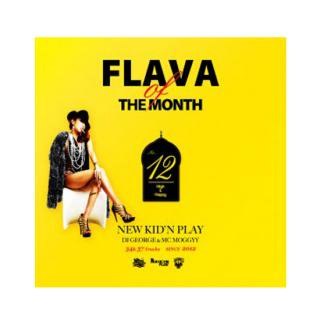 NEW KID'N PLAY【DJ GEORGE & MC MOGGYY】/FLAVA OF THE MONTH Vol,12