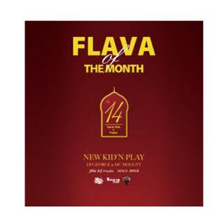 NEW KID'N PLAY【DJ GEORGE & MC MOGGYY】/FLAVA OF THE MONTH Vol,14