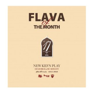 NEW KID'N PLAY【DJ GEORGE & MC MOGGYY】/FLAVA OF THE MONTH Vol,17