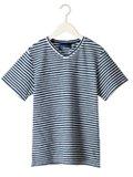 Timone / ティモーネ 360°ストレッチTCパイルVネックTシャツ