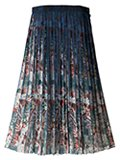 Robes & Confections / ローブスコンフェクションズ フラワープリントシフォンスカート